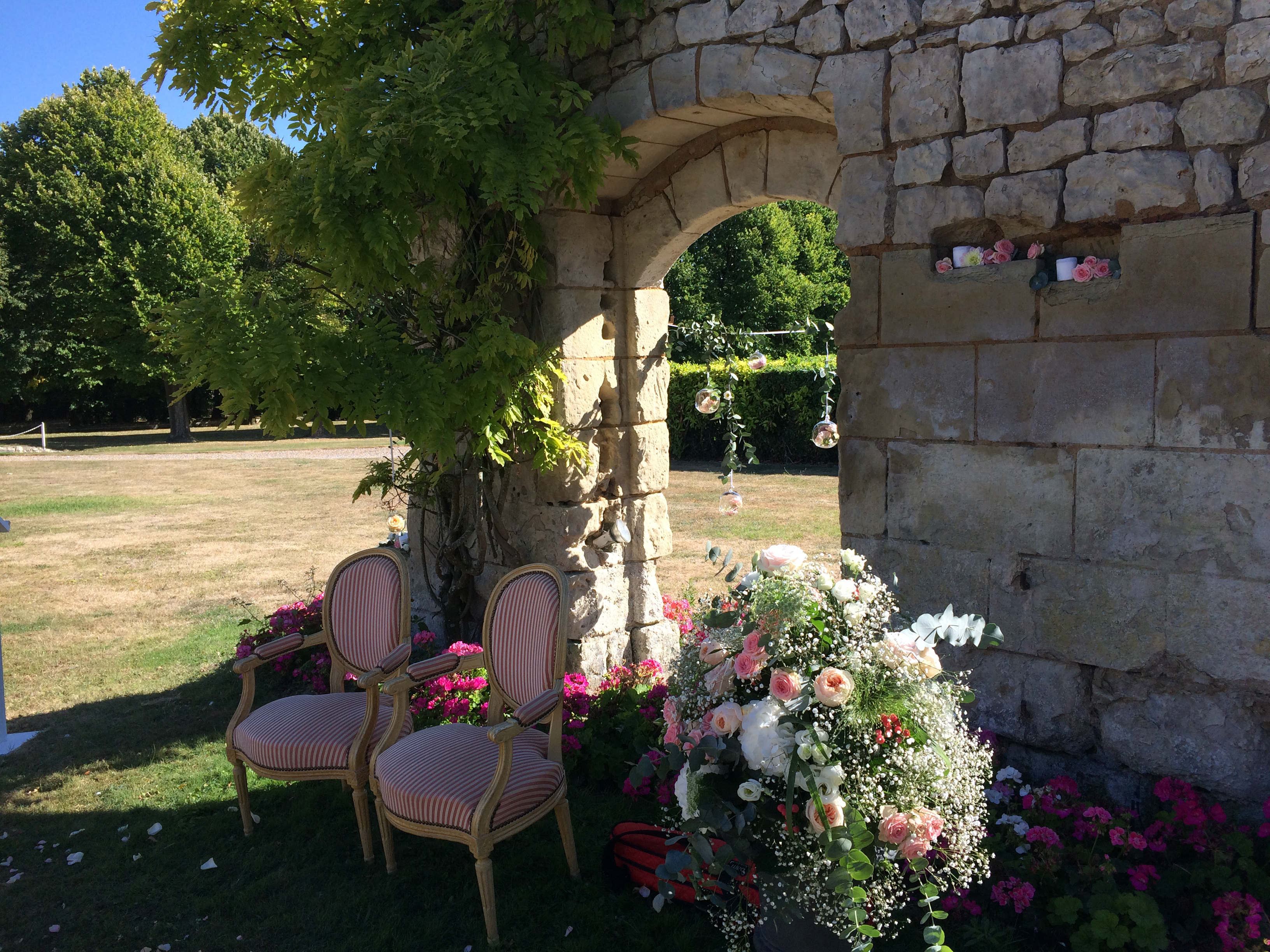 Celebration Wedding Ceremony-Loire Valley France