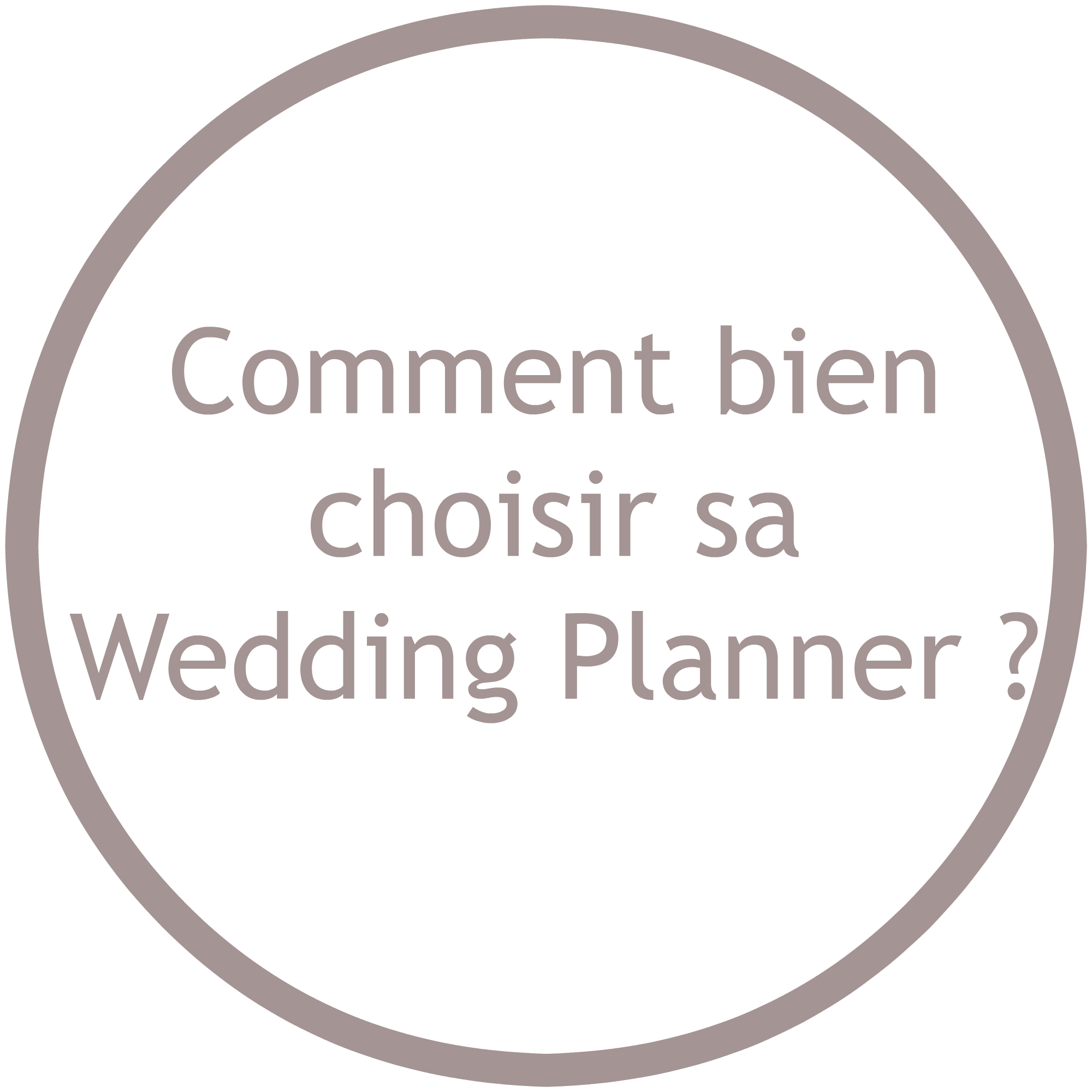 Comment choisir sa wedding planner ?